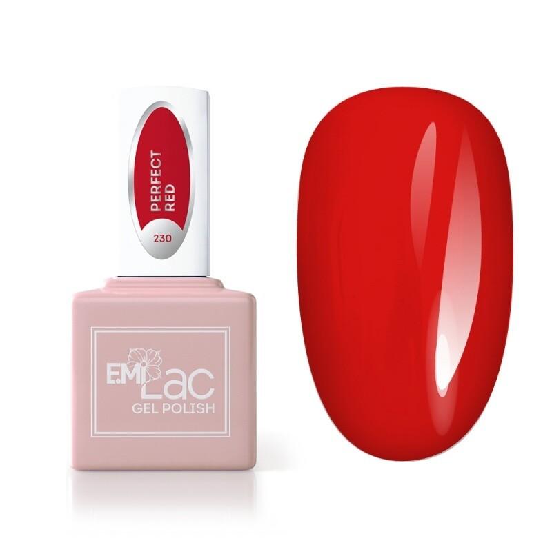 E.MiLac RM Идеальный красный №230, 9 мл.