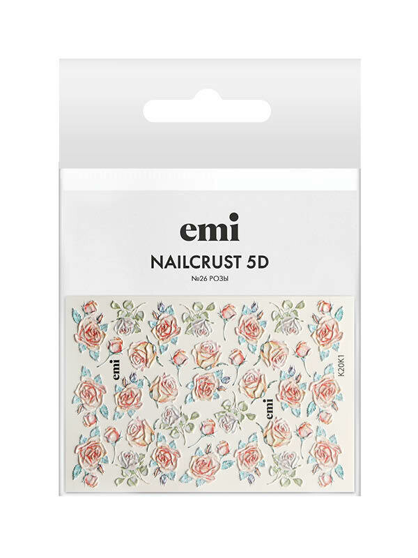 NAILCRUST 5D №26 Розы