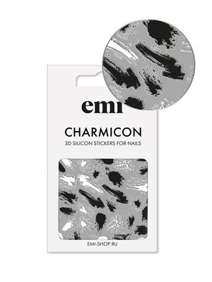 Charmicon 3D Silicone Stickers №169 Эскиз