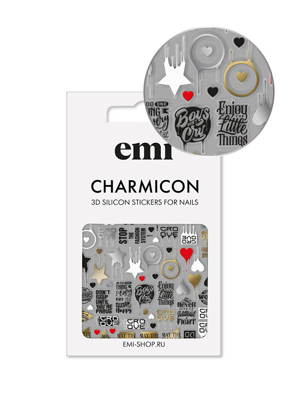 Charmicon 3D Silicone Stickers №168 Значки