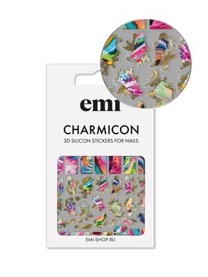 Charmicon 3D Silicone Stickers №166 Аура