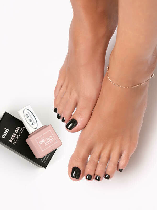 E.MiLac Base Gel for Pedicure, 9 мл.
