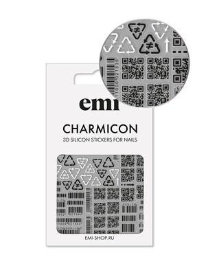 Charmicon 3D Silicone Stickers №175 Шифр
