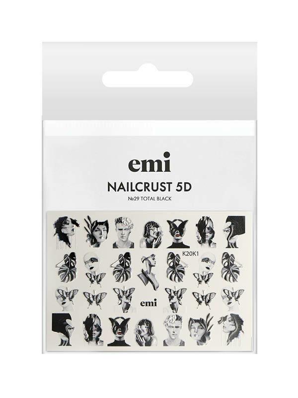 NAILCRUST 5D №29 Total Black