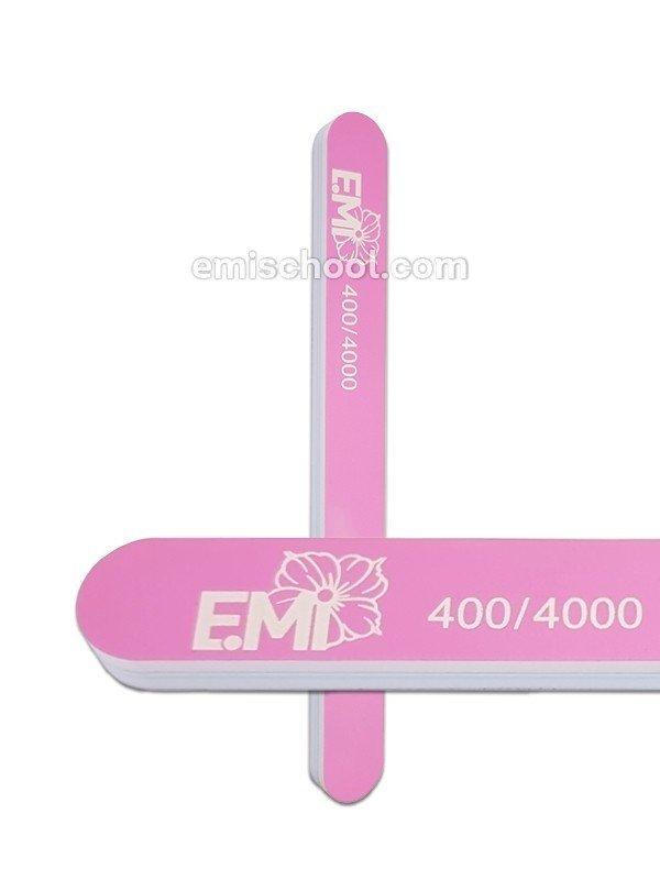 Пилка полировочная для натуральных ногтей Ultra Shine 400/4000 E.Mi