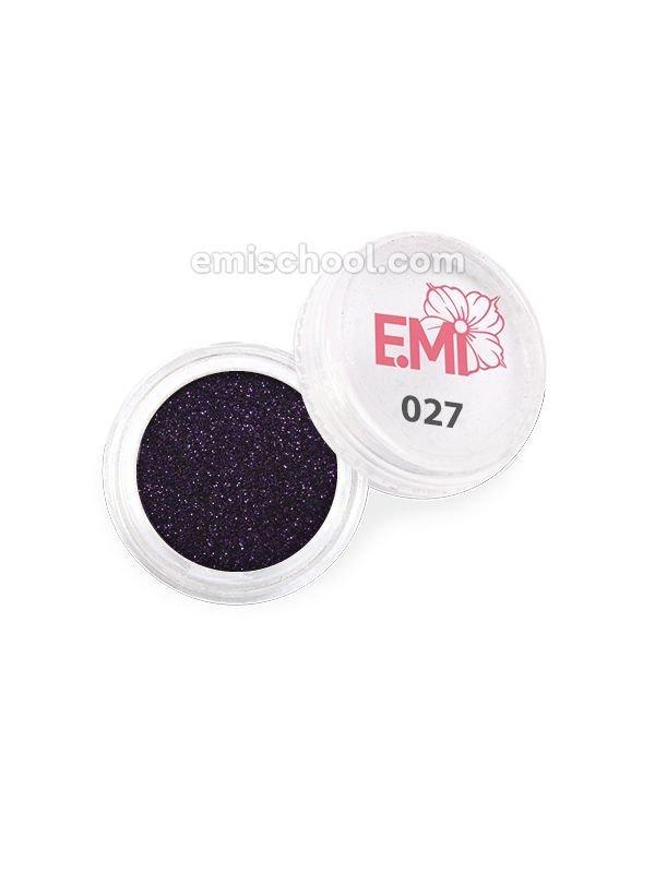 Пыль однотонная Металлик №027