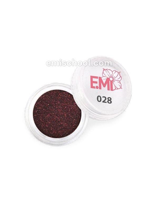 Пыль однотонная Металлик №028
