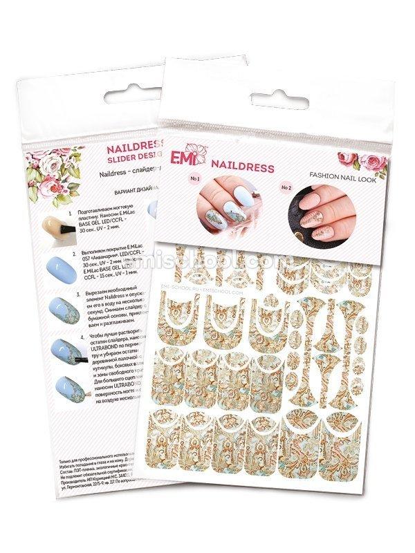 Naildress Slider Design Персидский платок