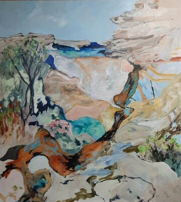The Water Run RNP 153cm x 137cm