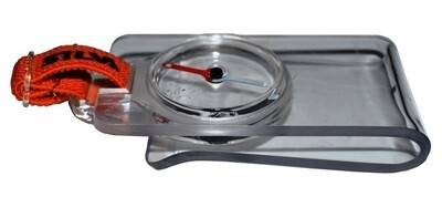 SILVA Micro Racer Mapboard Compass with detachable mapboard clip