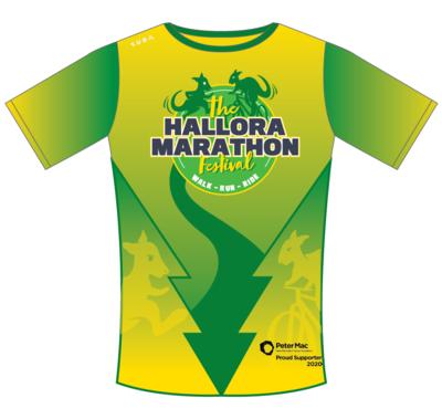 Hallora Marathon shirt