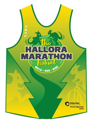 Hallora Marathon singlet