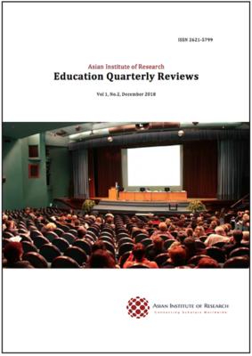 Education Quarterly Reviews