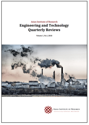 Engineering and Technology Quarterly Reviews