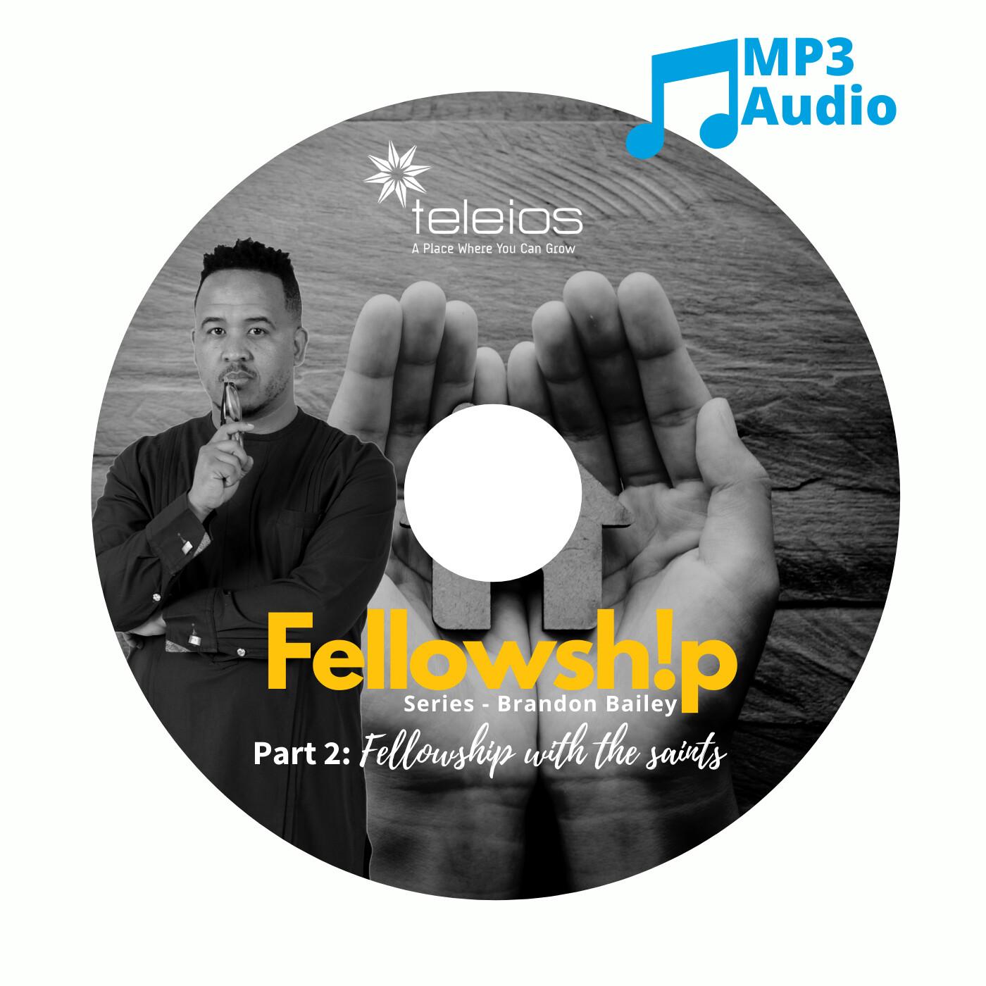 Fellowship Part 2: Fellowship with the saints