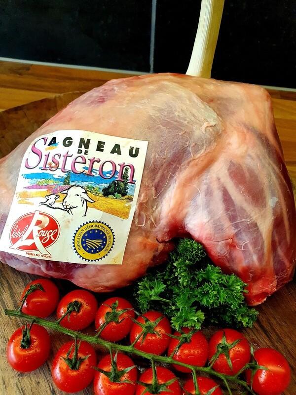 Épaule d'agneau de Sisteron avec os (France)