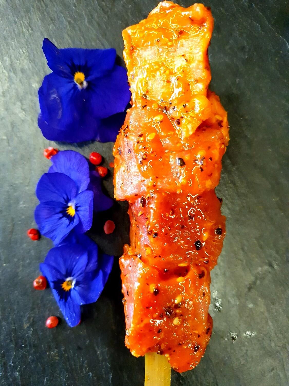 Brochette de porc rustique (environ 100gr.) (Suisse)