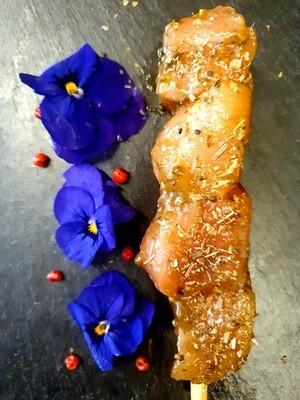 Brochette de poulet aux herbes (environ 100gr.) (Suisse)