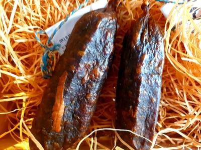 Saucisse sèche de boeuf à l'ail (Suisse)