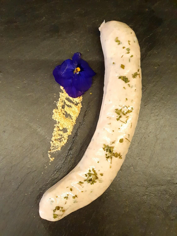 Saucisse de veau ail des ours (140gr.) (Suisse)