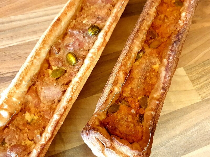 Pâté en croûte porc-pistaches (Suisse)