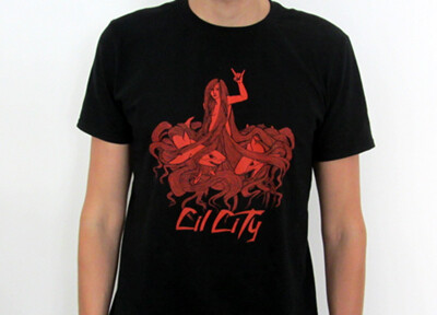 T-Shirt - Red Ocean (Ladies+Men)