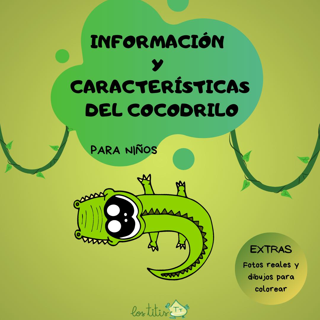 Información y características del Cocodrilo
