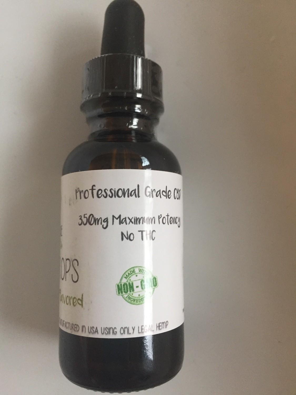 350mg CBD wintergreen flavored