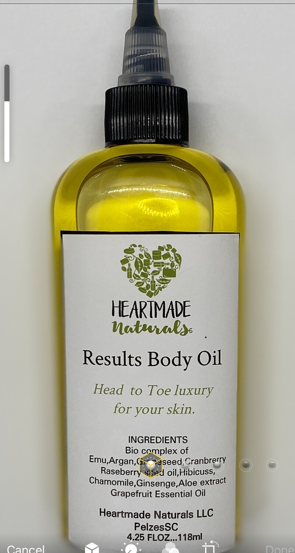 Results Body Oil