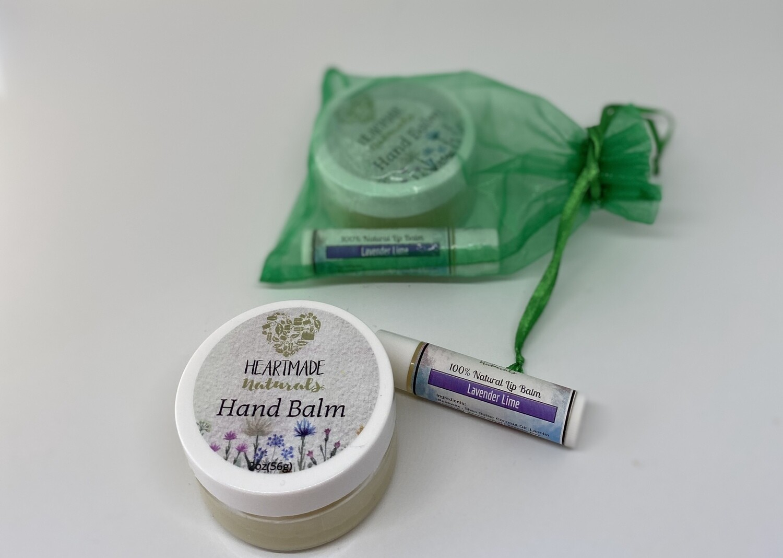 Hand Balm & Lip Butter Set