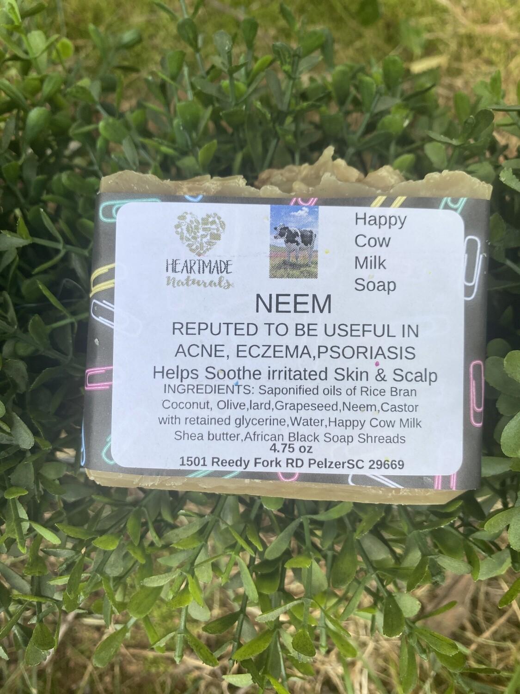 Neem happy cow milk soap