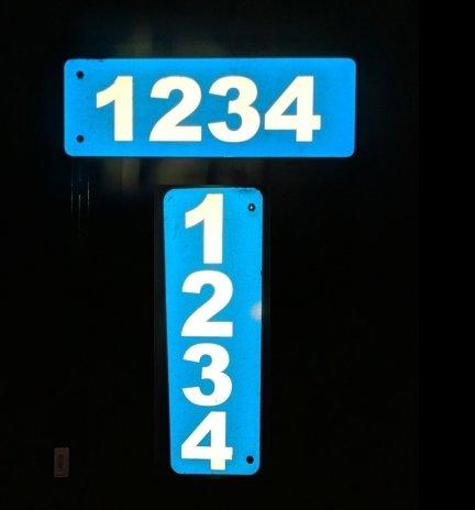 Address Entry Signs