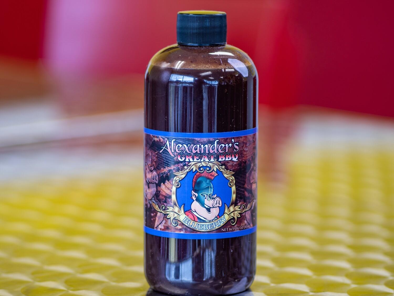 Alexander's Great Blueberry BBQ Sauce