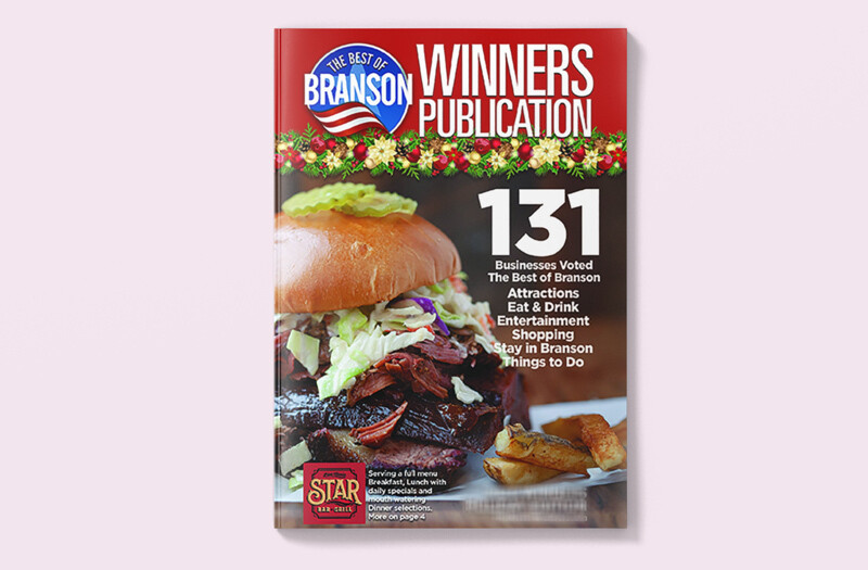2020 Branson Winners Magazine Spring Edition - Double Truck