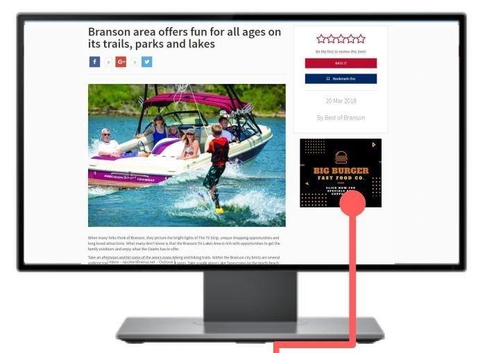 TheBestofBranson.com Digital Display Ads