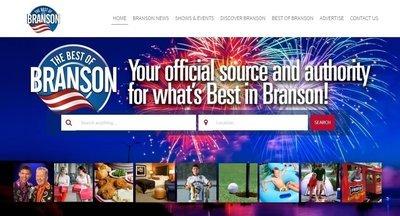TheBestOfBranson.com Homepage Main Slider