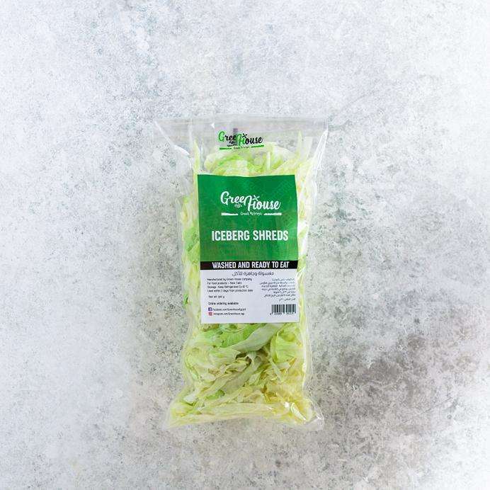 Iceberg Shreds شرائح كابوتشا