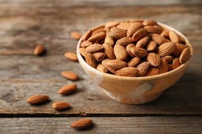 Roasted Almonds (250g) لوز محمص