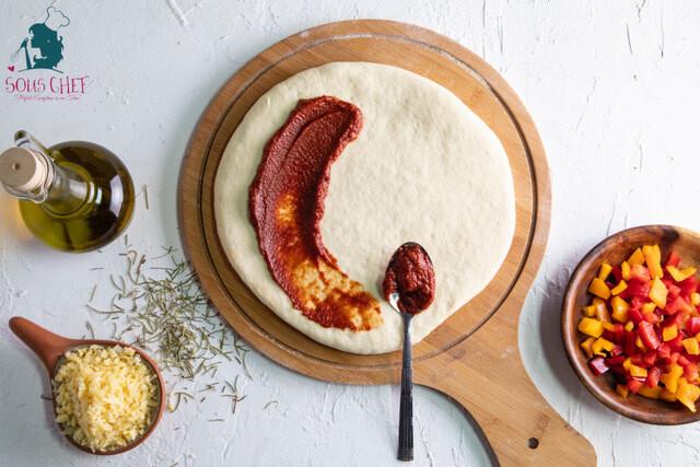 Pizza dough عجينه البيتزه