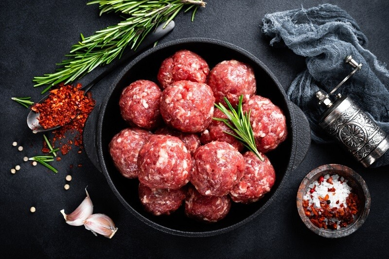 Lamb meatballs كفته داوود باشا ضاني