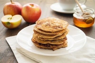 Wholewheat pancake mix خليط البانكيك بالدقيق الاسمر