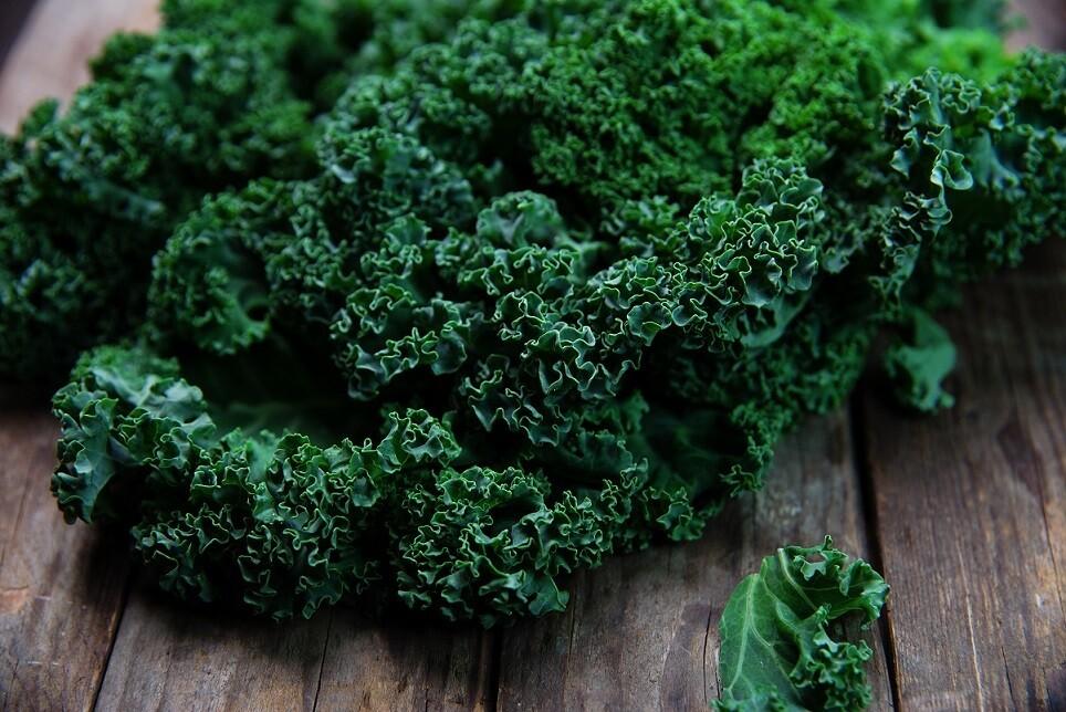 Green curly kale (100gm) كيل كيرلي اخضر
