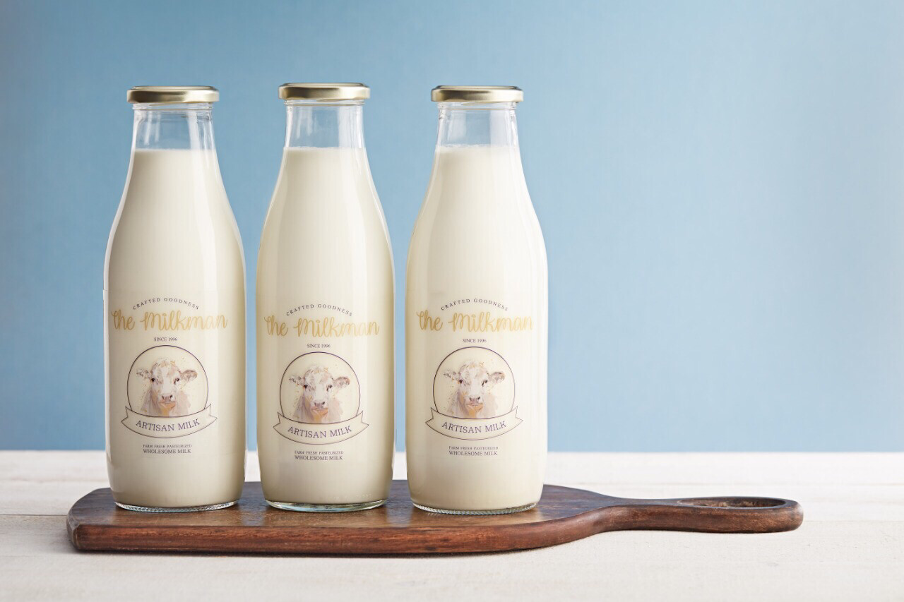 Fresh milk (850ml) حليب طازج