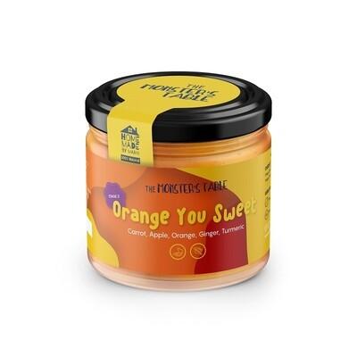Orange You Sweet خلطه البرتقال بالجزر