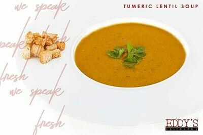 Turmeric Lentil Soup (1L) شوربه العدس بالكركم