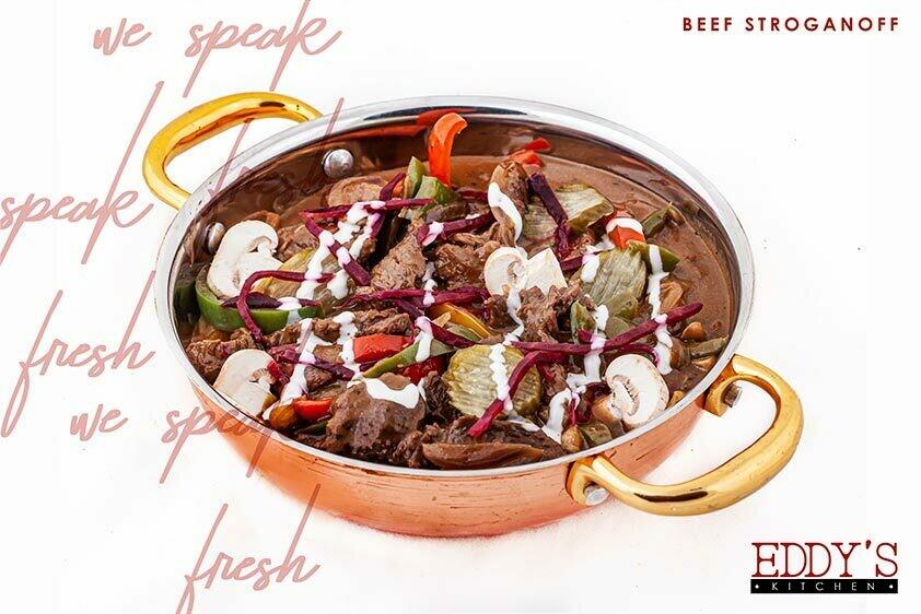 Beef Stroganoff (1kg) ستروجانوف بالحم