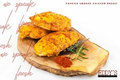 Roasted Paprika Smoked Chicken Breast (500g) صدور فراخ مدخنة روست بالبابركا