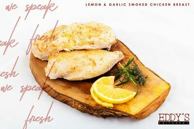 Roasted Lemon & Garlic Smoked Chicken Breast (500g) صدور فراخ مدخنة روست باليمون والثوم