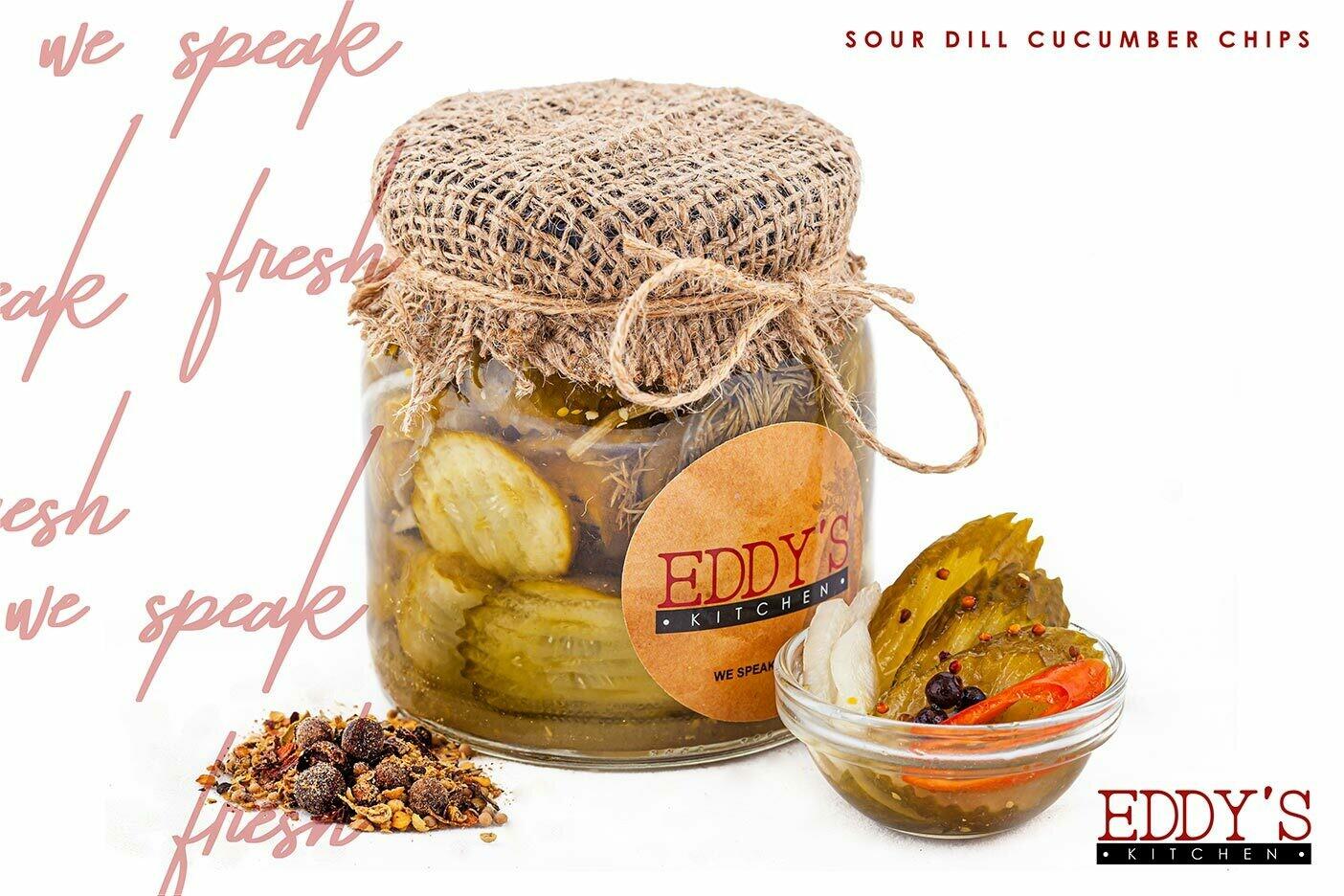 Sour Dill Pickle Slices (530g) شرائح الخيار المخلل