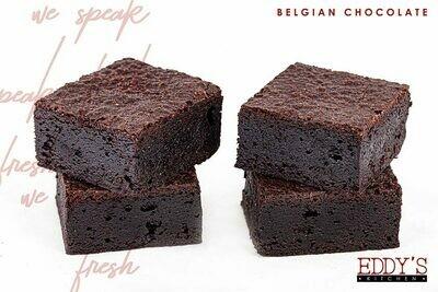 Belgian Chocolate Brownies (4) براونيز بالشوكولا البلجيكية